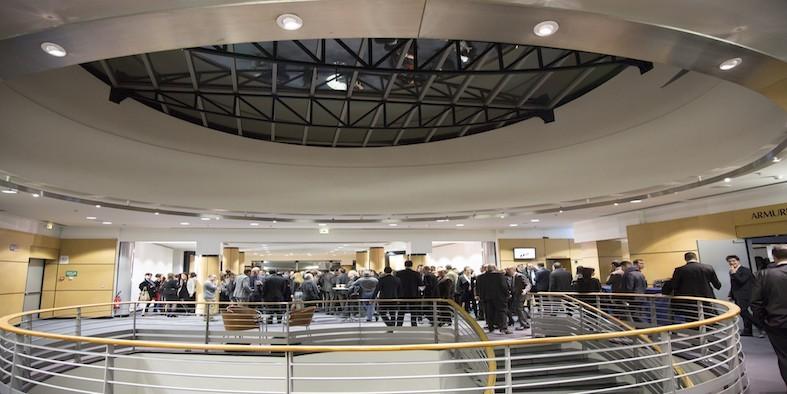 Saint Etienne convention center - mezzanine