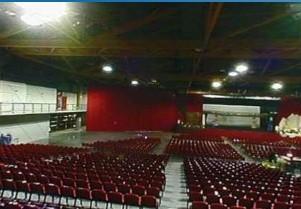 Hall of Martigues 13 bleachers