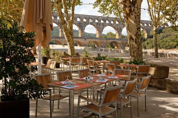 Restaurante Pont du Gard