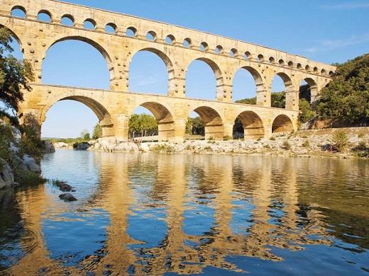 Sitio Pont du gard - pont du gard - patrimonio mundial de la humanidad - c yann de fareins