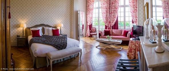 Chateau de la Tour Gouvieux - historisches Zimmer
