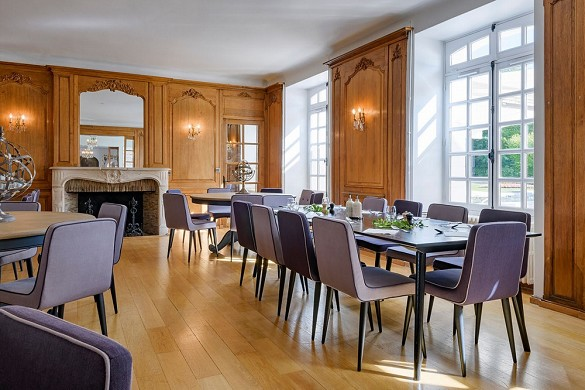 Castillo de Fillerval - sala de reuniones