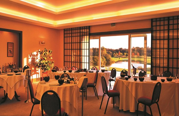 Exklusives Golfdomain d'Apremont - Restaurant