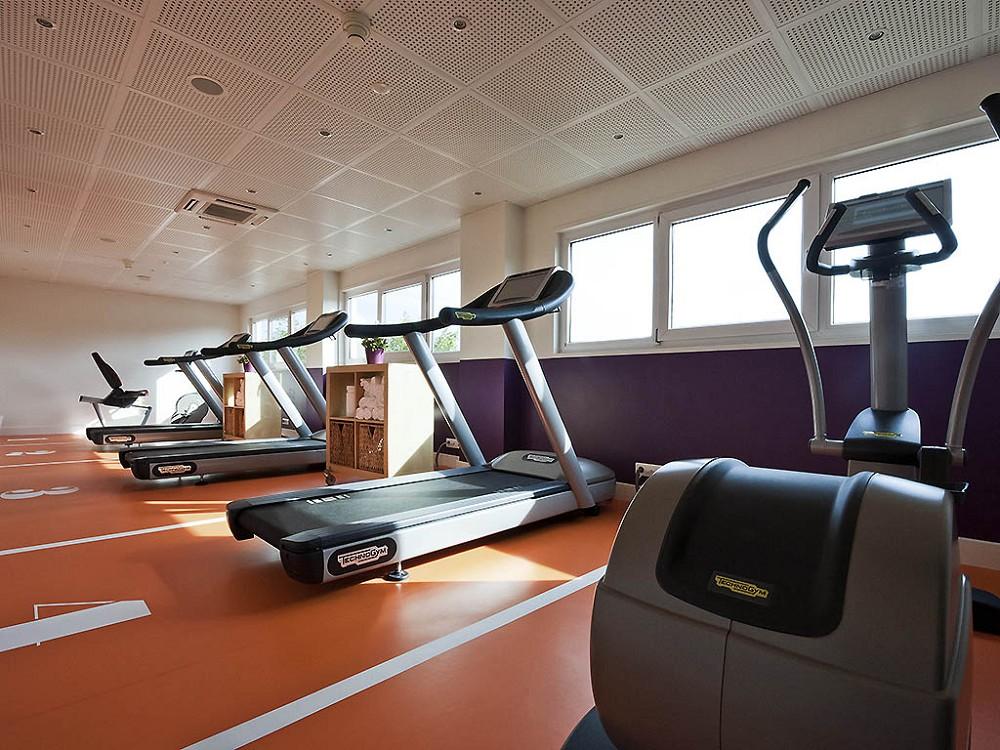 Novotel Marne la Vallee - la sala fitness