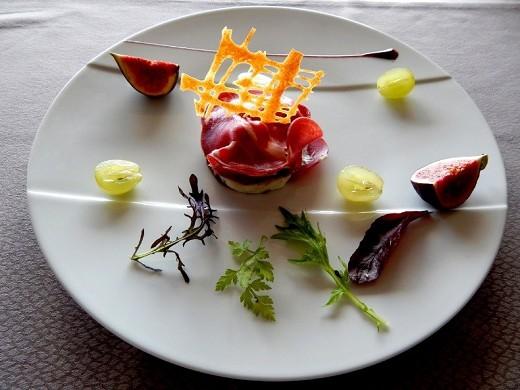 Calluna - ejemplo de un plato de restaurante