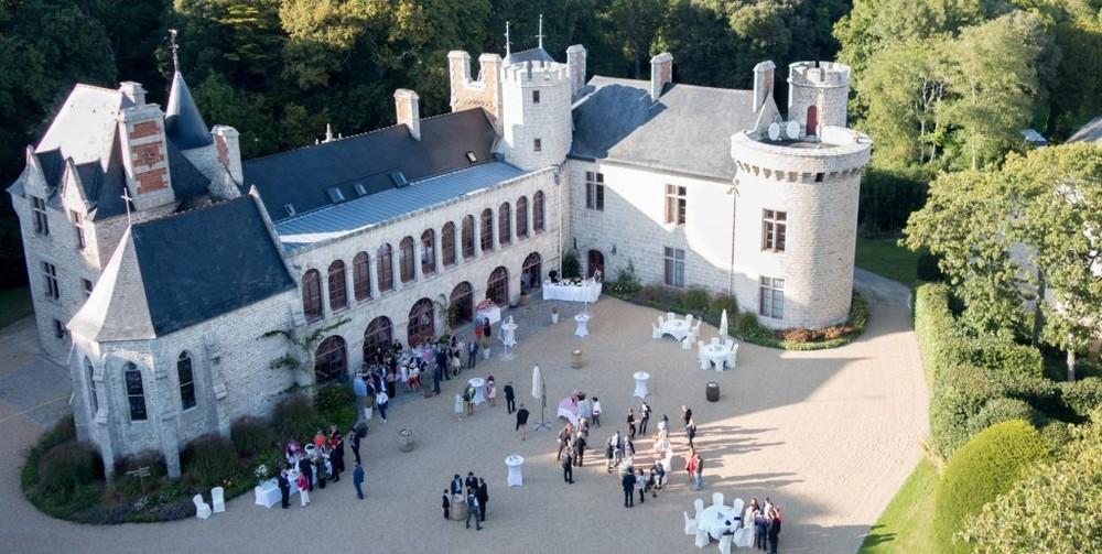 Domaine de lauvergnac - cortile del castello