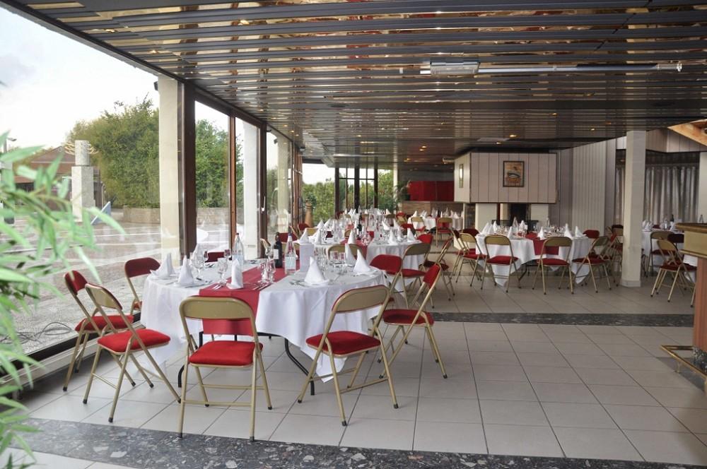 Golf hotel de mont griffon - área de recepción