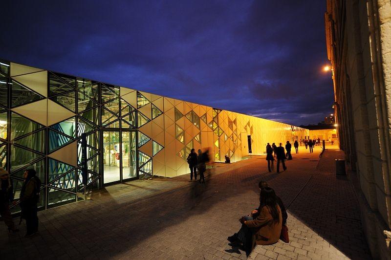 Cite Saint Etienne design esterno