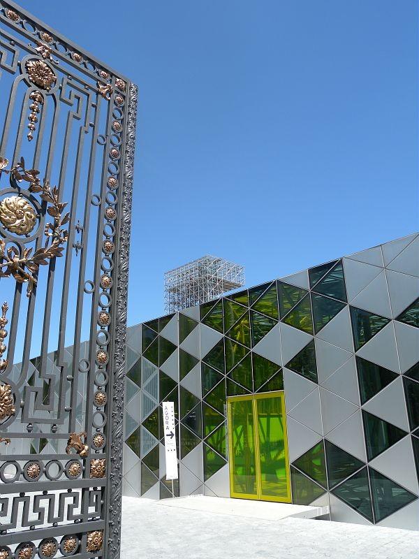 Cite Saint Etienne progettazione facciata