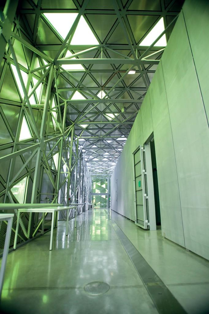 Cite Saint Etienne interior design