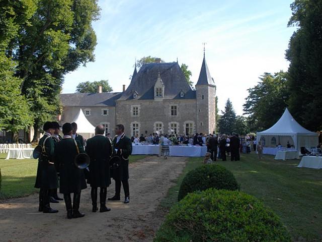 Chateau d OYRE Camille camera Constantin fuori Clermont-Créans