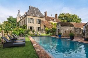 Schloss von Saint Paterne - Schwimmbad
