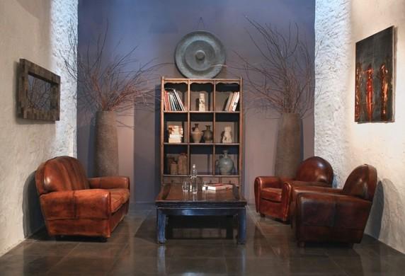 Domaine de quincampoix - living room