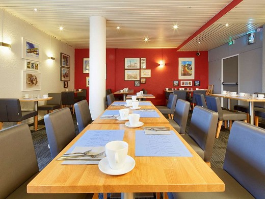 Kyriad orly-athis mons airport - breakfast room