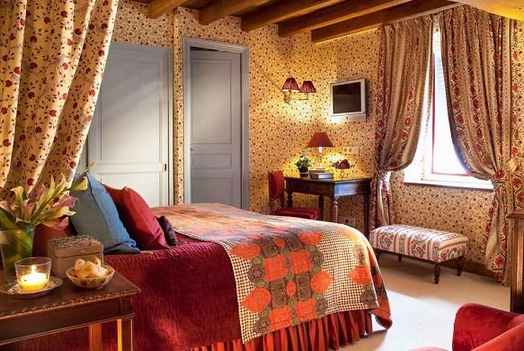 Hotel de france angerville - bedroom