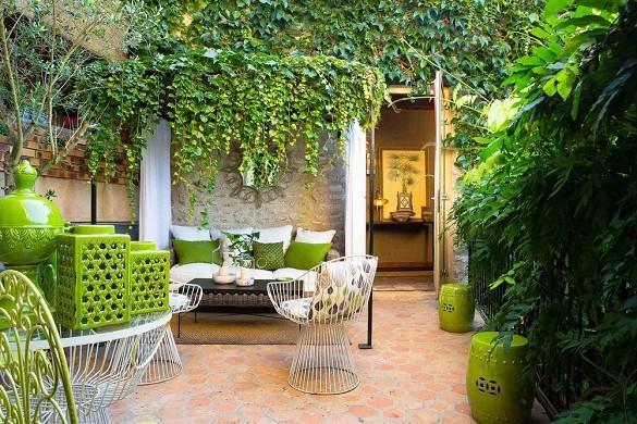 Hotel de France Angerville - Terrasse