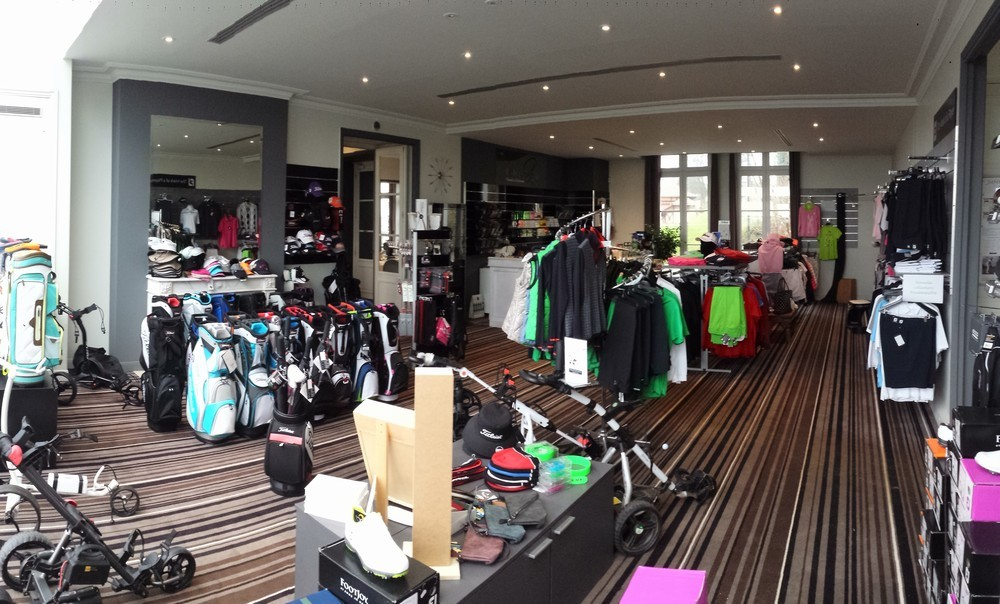 Exclusiv golf de béthemont - shop