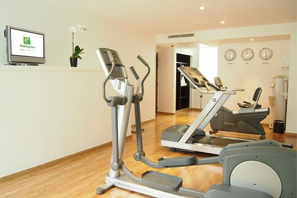 Holiday inn paris Clichy door - fitness area