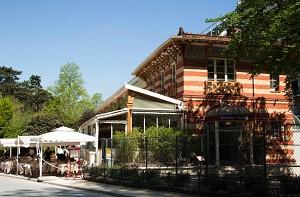 Pavillon Montsouris - en lugar de los del exterior