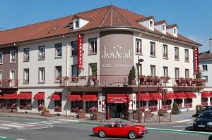 Restaurante Hotel de la Jamagne & Spa - Hotel fuera