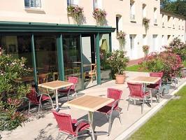 Hotel Entre Beauce - Terrasse