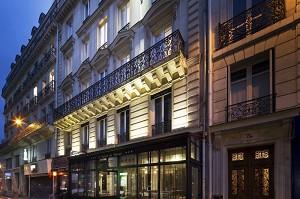 Hôtel le Relais du Marais - L'hotel di notte