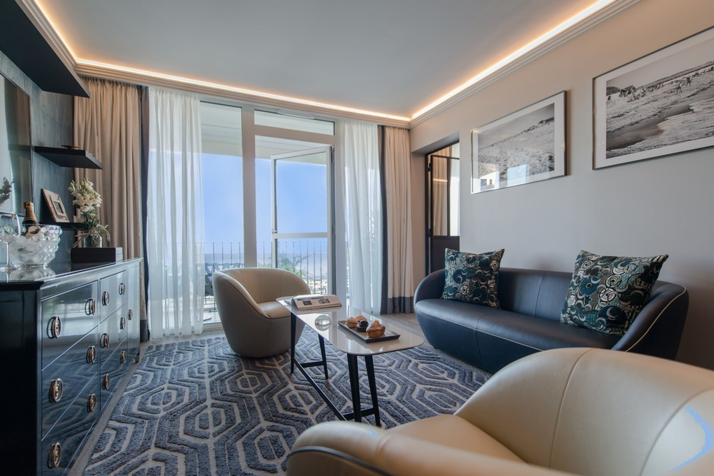 The large terrace hotel and spa la rochelle mgallery by sofitel - living room