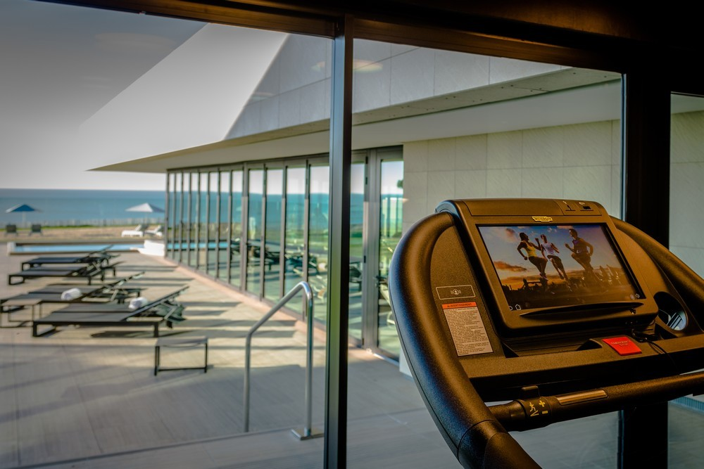 The large terrace hotel and spa la rochelle mgallery by sofitel - fitness area