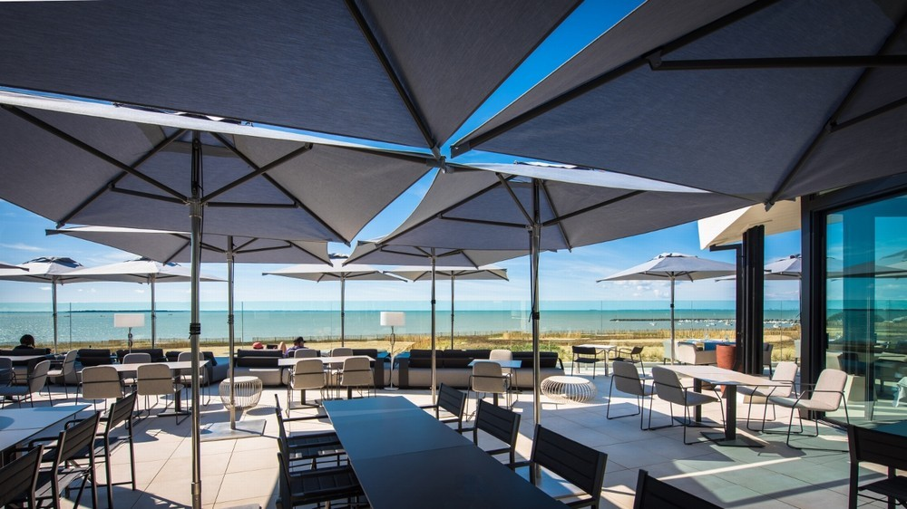 The large terrace hotel and spa la rochelle mgallery by sofitel - terrace