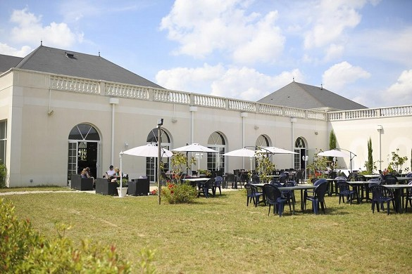 Villa bellagio amboise - terraza