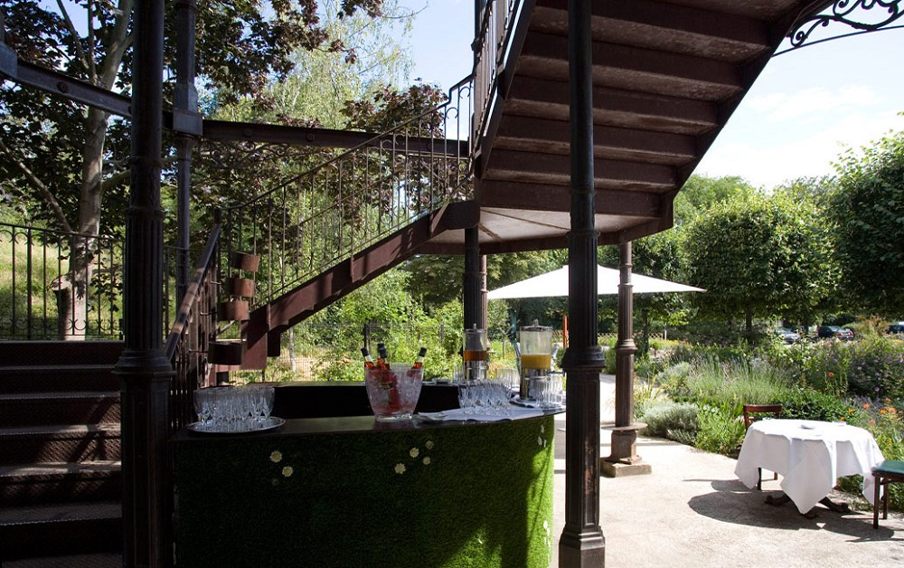 Restaurant l'ile - terraço