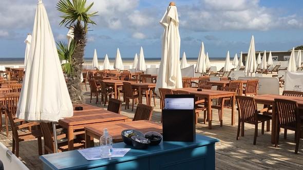 Grand Hotel Le Touquet Resort und Spa - der Strand