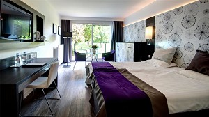 Renovated luxury room