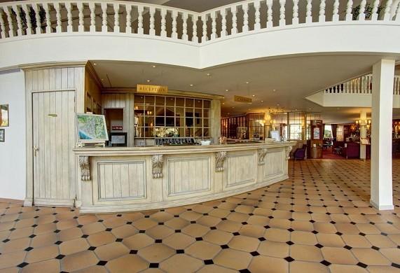 Park Hotel - najeti - reception