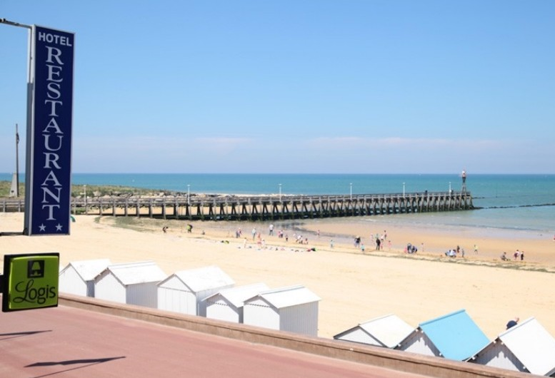 Hotelrestaurant La Rancaillere - Blick auf das Meer