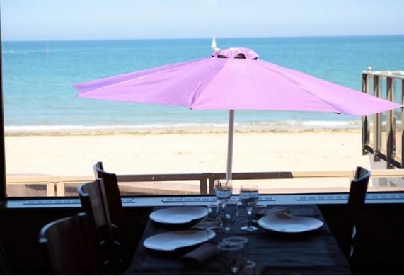 Hotelrestaurant La Rancaillere - auf der Terrasse