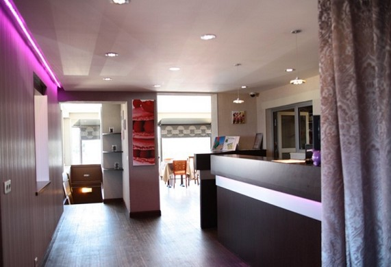 Hotelrestaurant La Rancaillere - Rezeption