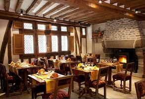 Auberge Saint Pierre - sala del restaurante
