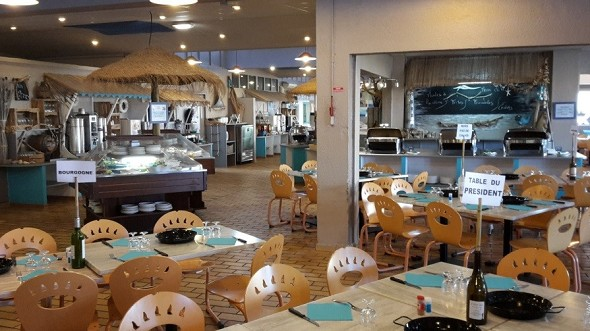VVF puebla las puertas de roussillon - barcarès - restaurante