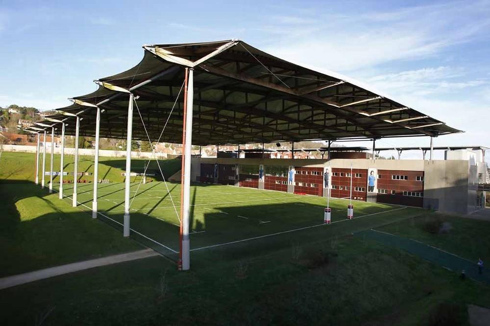 Centro nazionale di rugby - campo coperto sintetico