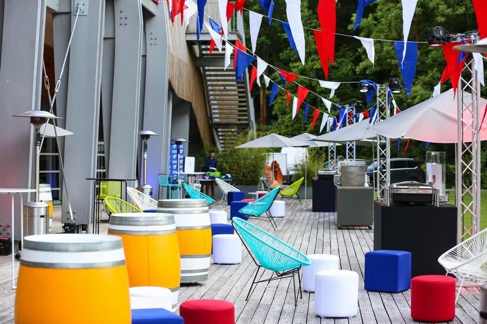 Centro nazionale di rugby - terrazza per eventi