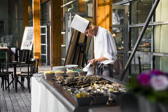 National Rugby Center - special event oyster bar