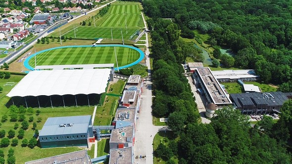 National Rugby Center - aerial view