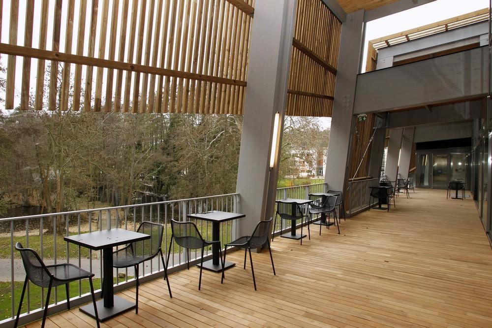 National rugby centre - area ristorazione con terrazza