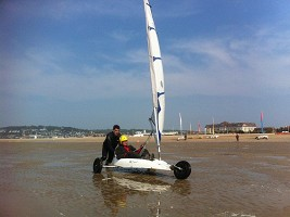 Beach hotel / sand yachting activity 1