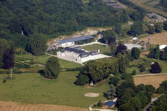 Abbey valasse - aerial view