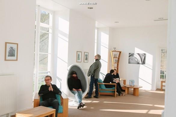Abbaye du Valasse - Zen Lounge Entspannungsbereich