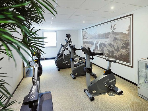 Mercury Rouen Champ de Mars - fitness room