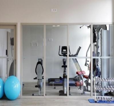 Hotel de la baie - Fitnessbereich