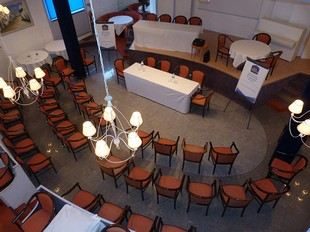 The hotel Gollandières - seminar room